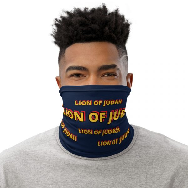LOJ Blue Neck Gaiter Face Mask
