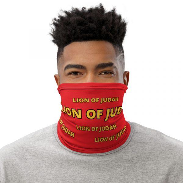 LOJ Red Neck Gaiter Face Mask