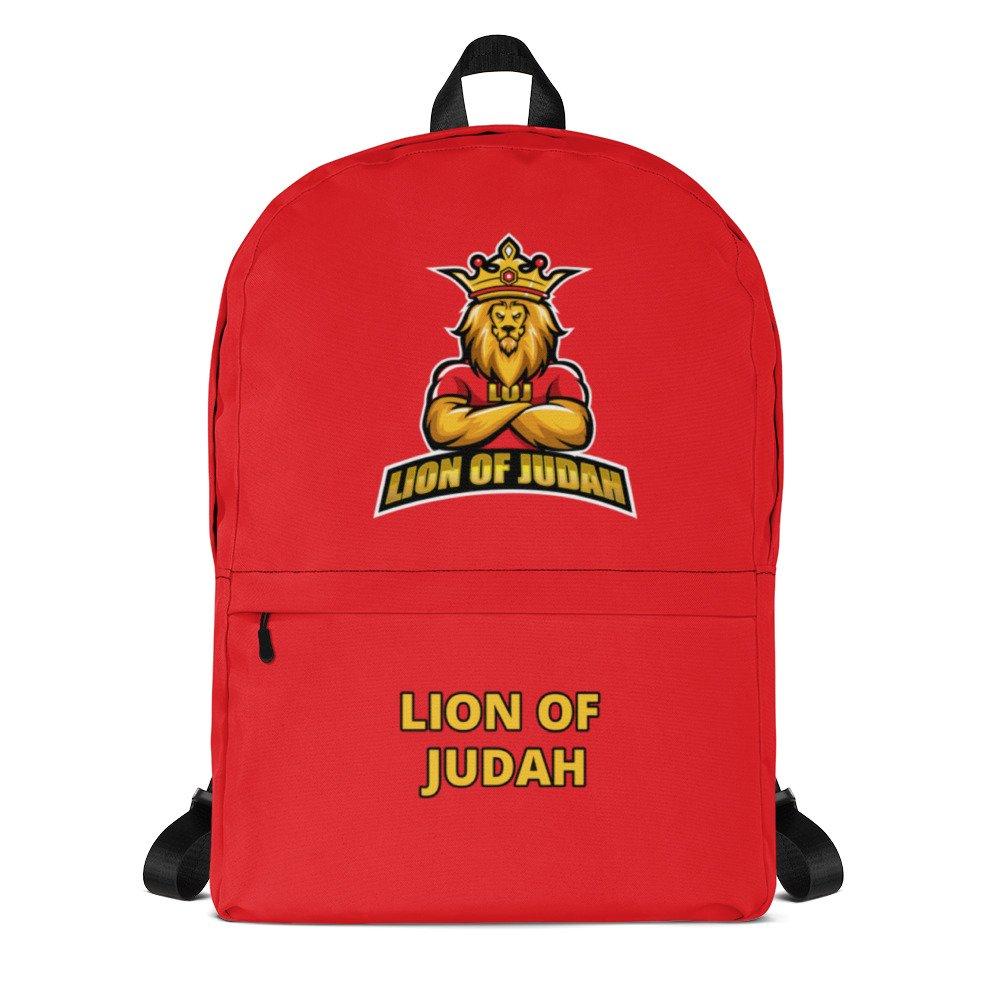 LOJ Red School Backpack Bag