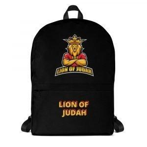 LOJ Black School Backpack Bag