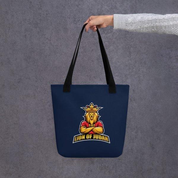 LOJ Blue Tote Handbag