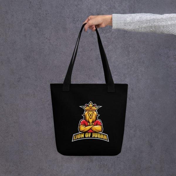 LOJ Black Tote Handbag