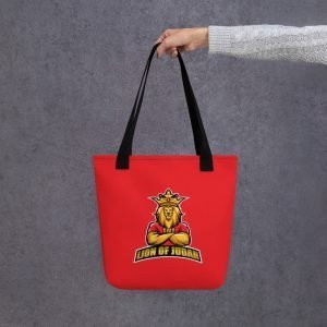 LOJ Red Tote Handbag