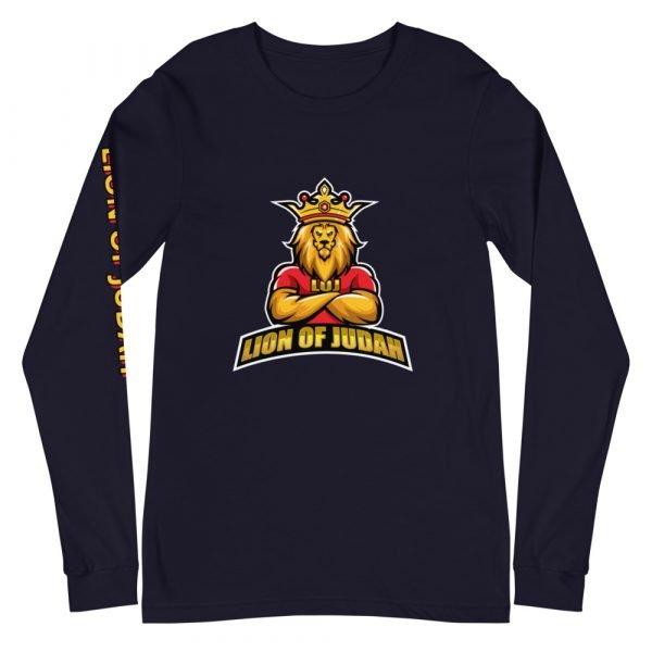 LOJ Long Sleeve Christian Shirt With Slogan For Men & Women