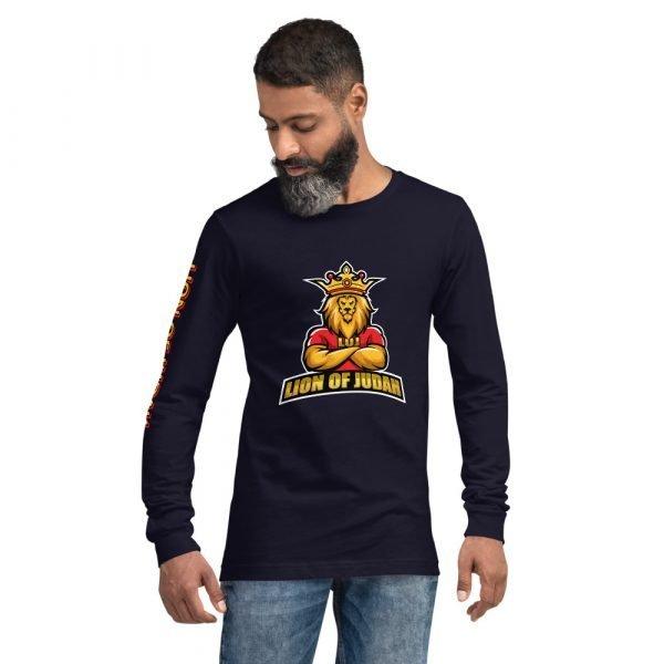 LOJ Long Sleeve All Over Print Christian Shirt For Men & Women