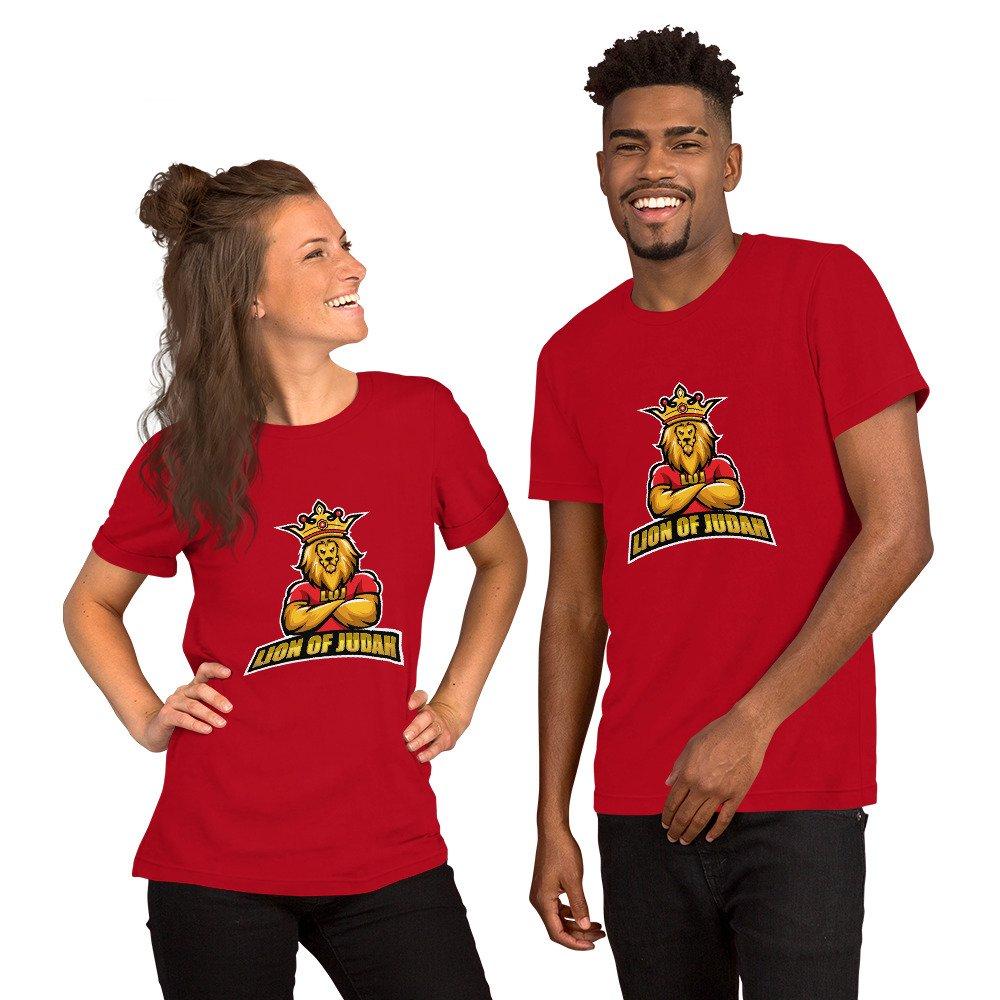 LOJ Short-Sleeve All Over Print Christian T-Shirt For Men & Women